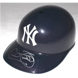 Cecil Fielder Signed Yankees Full-Size Replica Batting Helmet (Schwartz COA)