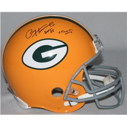 "Paul Hornung Signed LE Packers Full-Size Authentic Pro-Line Helmet Inscribed ""HOF 86""  ""4-Time NFL C"