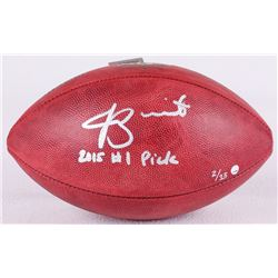 """Jameis Winston Signed LE NFL Official Game Ball Inscribed """"2015 #1 Pick"""" (Steiner COA)"""