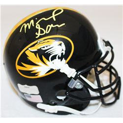 Michael Sam Signed Missouri Mini-Helmet (Radtke COA)