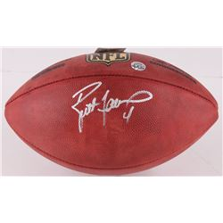 Brett Favre Signed NFL Official Game Ball (Favre COA)