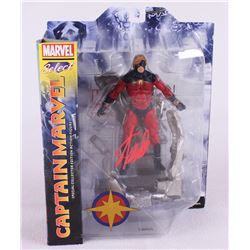 "Stan Lee Signed ""Captain Marvel"" Marvel Select Action Figure (Lee Hologram)"