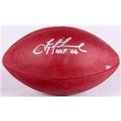 "Troy Aikman Signed NFL Official Game Ball Inscribed ""HOF '06"" Limited Edition #1/80 (Steiner COA)"