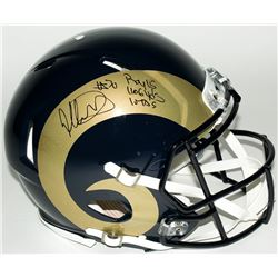 """Todd Gurley Signed LE Rams Full-Size Authentic Pro-Line Helmet Inscribed """"ROY 15,"""" """"1106 Yds,""""  """"10"""