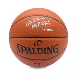 "Allen Iverson Signed Basketball Inscribed ""MVP 2K1"" LE 30 (UDA COA)"
