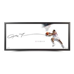 "Allen Iverson Signed The Show ""The Reverse"" 43x20 Custom Framed Lithograph (UDA COA)"