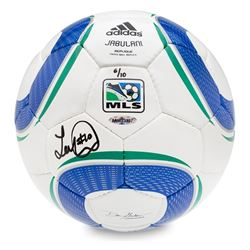 Landon Donovan Signed Adidas Replica MLS Match Soccer Ball (UDA COA)