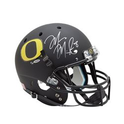 Marcus Mariota Signed Oregon Ducks Full-Size Helmet (UDA COA)