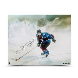 "Peter Forsberg Signed Avalanche ""Watcher"" LE 16x20 Photo (UDA COA)"