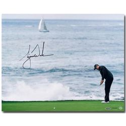 "Tiger Woods Signed ""Crashing Waves"" LE 16x20 Photo (UDA COA)"