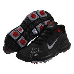 Tiger Woods Signed Pair of Nike Cleats (UDA COA)