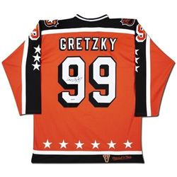 Wayne Gretzky Signed Mitchell  Ness All-Star Jersey (UDA COA)