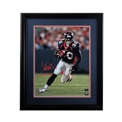 "Terrell Davis Signed Broncos 27x33 Custom Framed Photo Inscribed ""2x SB Champ"" (Radtke COA)"