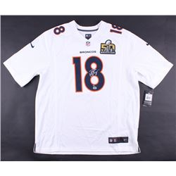 Peyton Manning Signed Broncos Authentic On-Field Nike Jersey With Super Bowl 50 Patch (Steiner COA