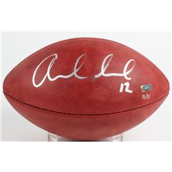 "Andrew Luck Signed ""Salute to Service"" Official NFL Game Ball (Panini COA)"