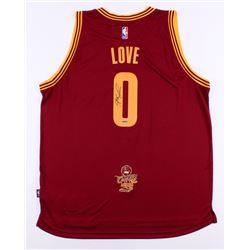 Kevin Love Signed Cavaliers Authentic Adidas Swingman Jersey (UDA COA)