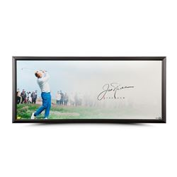 "Jack Nicklaus Signed ""The Drive"" 20x46 Custom Framed Photo (UDA COA)"