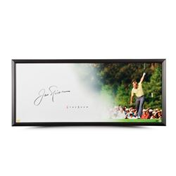 "Jack Nicklaus Signed ""The Putt"" LE 20x46 Custom Framed Photo (UDA COA)"