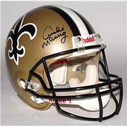 Archie Manning Signed Saints Throwback Full-Size Authentic Pro-Line Helmet (Radtke COA)
