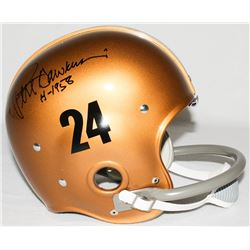 "Pete Dawkins Signed Army Full-Size TK Suspension Helmet Inscribed ""H-1958"" (Radtke COA)"