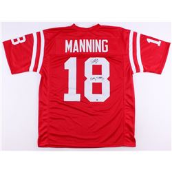 "Archie Manning Signed Ole Miss Throwback Jersey Inscribed ""Hotty Toddy"" (Steiner COA)"