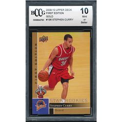 2009-10 Upper Deck First Edition Gold #196 Stephen Curry (BCCG 10)