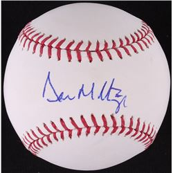 Don Mattingly Signed OML Baseball (JSA COA)
