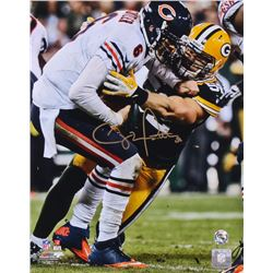 Clay Matthews Signed Packers 11x14 Photo (Matthews Hologram)
