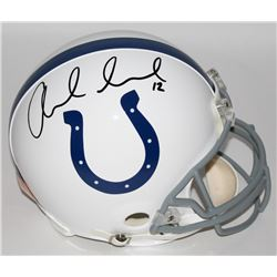 Andrew Luck Signed Colts Authentic Pro-Line Helmet (Panini COA)