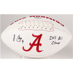 "Amari Cooper Signed Alabama Crimson Tide Logo Football Inscribed ""2013 BCS Champs"" (Radtke Hologram)"