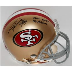 "Aldon Smith Signed 49ers Full-Size Authentic Pro-Line Helmet Inscribed ""2012 DPOY""  ""99 Problems"" (R"
