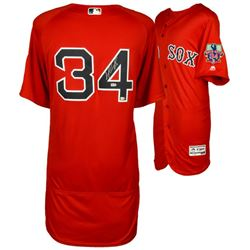 David Ortiz Signed Red Sox Jersey With Final Season Patch (MLB)