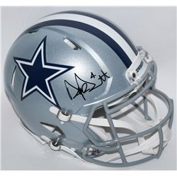 Dak Prescott Signed Cowboys Full-Size Authentic Pro-Line Speed Helmet (JSA COA)