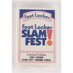 1991 Foot Locker Slam Fest Complete Set of (30) Cards
