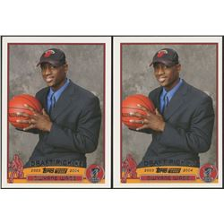Lot of (2) 2003-04 Topps #225 Dwyane Wade RC Basketball Cards