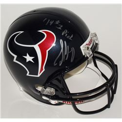 Jadeveon Clowney Signed Texans Full-Size Helmet Inscribed  '14 #1 Pick  (Steiner COA)