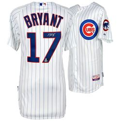Kris Bryant Signed Cubs Majestic Authentic Jersey (MLB  Fanatics)