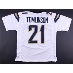"LaDainian Tomlinson Signed Chargers Jersey Inscribed ""HOF 17"" (Tomlinson Hologram)"