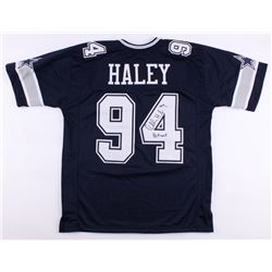 "Charles Haley Signed Cowboys Jersey Inscribed ""HOF 2015"" (JSA COA)"