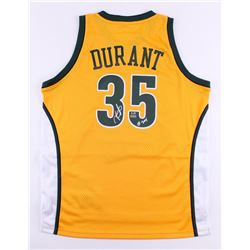 "Kevin Durant Signed LE Supersonics Adidas Swingman Jersey Inscribed ""08 ROY"" (Panini COA)"