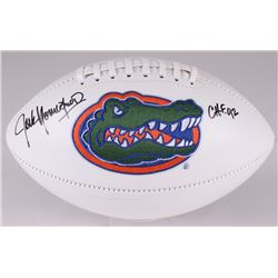 "Jack Youngblood Signed Florida Gators Logo Football Inscribed ""CHF '92"" (JSA COA)"