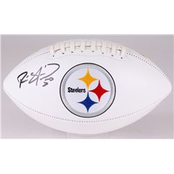 Ryan Shazier Signed Steelers Logo Football (JSA COA)