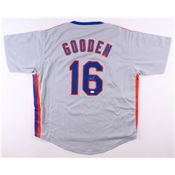 "Dwight ""Doc"" Gooden Signed Mets Jersey (JSA COA)"