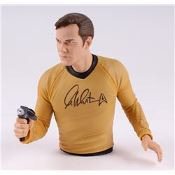 "Wiliam Shatner Signed 7.5"" Star Trek ""Captin Kirk"" Bank (JSA COA)"
