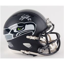Eddie Lacy Signed Seahawks Mini-Helmet (Lacy Hologram)