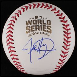 Jed Hoyer Signed World Series Baseball (JSA COA)