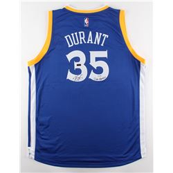 "Kevin Durant Signed LE Warriors Adidas Jersey Inscribed ""Dub Nation"" (Panini COA)"