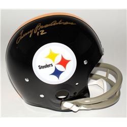 Terry Bradshaw Signed Steelers Full-Size Suspension Helmet (Bradshaw Hologram)