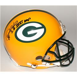 "Desmond Howard Signed Packers Full-Size Authentic Helmet Inscribed ""S.B. XXXI MVP"" (JSA COA)"