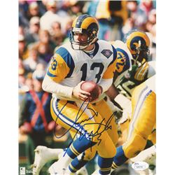 Chris Miller Signed Rams 8x10 Photo (JSA COA)